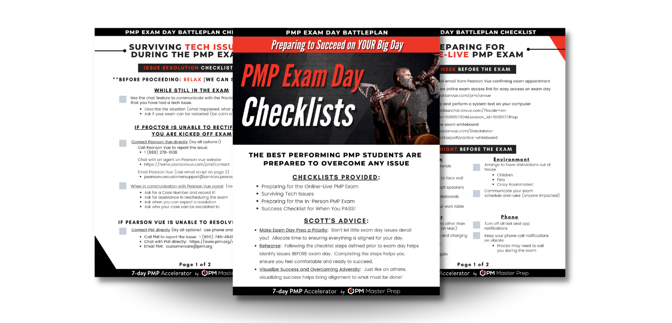 Exam Day Checklist